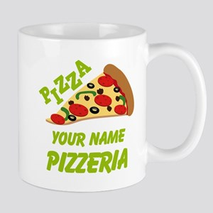 Personalized Pizzeria Mugs