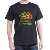 Pizza Mens Classic Dark T-Shirts