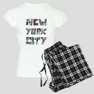 New York City Street Art Pajamas