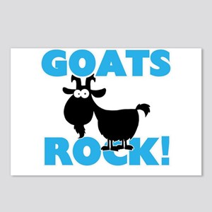 Goats rock! Postcards (Package of 8)