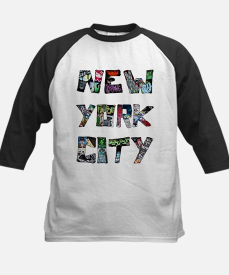 New York City Street Art Baseball Jersey