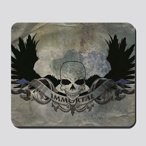 """Immortal"" Grunge Mousepad"