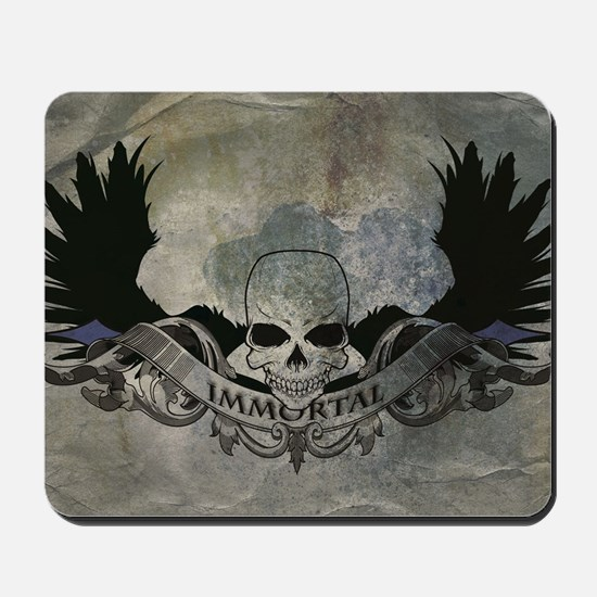 """Immortal"" Grunge Mousepad"