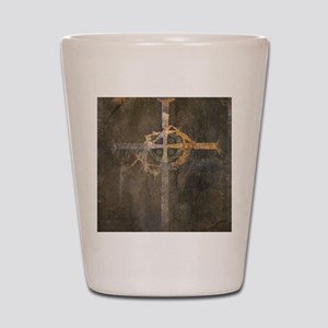 """Crux"" Cross Shot Glass"