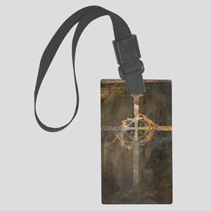 """Crux"" Cross Large Luggage Tag"