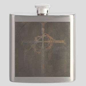 """Crux"" Cross Flask"