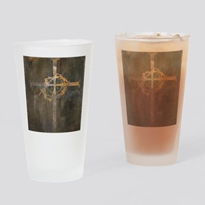 """Crux"" Cross Drinking Glass"
