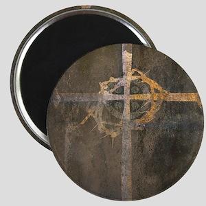 """Crux"" Cross Magnet"
