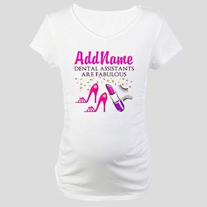SUPER DENTAL ASST Maternity T-Shirt