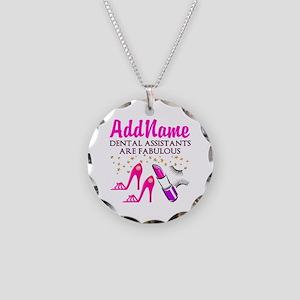 SUPER DENTAL ASST Necklace Circle Charm