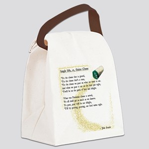 Shaker Cheese Canvas Lunch Bag