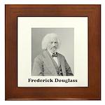 Frederick Douglass Framed Tile