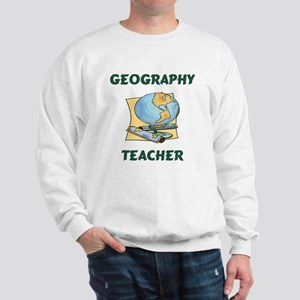 Geography Teacher Sweatshirt