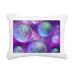 Inner Flow II Purple Rectangular Canvas Pillow