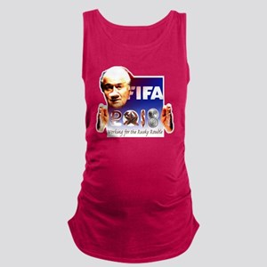 FIFA 2018 RUSKY ROUBLE Maternity Tank Top
