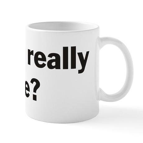 Are we really free? Mug