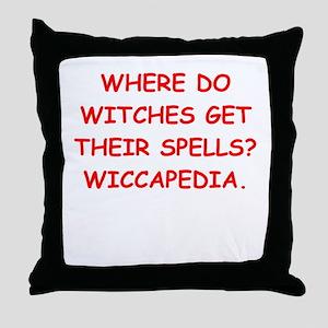 witches Throw Pillow