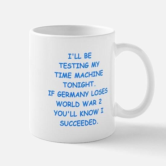 time machine Mugs