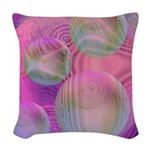 Inner Flow III Abstract Woven Throw Pillow
