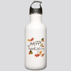 Happy Thanksgiving Stainless Water Bottle 1.0L