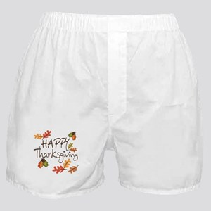 Happy Thanksgiving Boxer Shorts