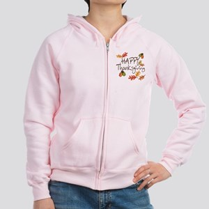 Happy Thanksgiving Women's Zip Hoodie