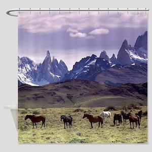 Mountain Beauty Shower Curtain