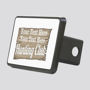 Vintage Hunting Club Hitch Cover