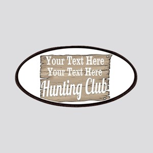 Vintage Hunting Club Patches