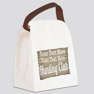 Vintage Hunting Club Canvas Lunch Bag