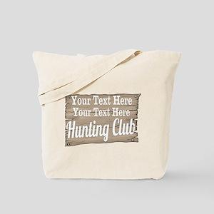 Vintage Hunting Club Tote Bag