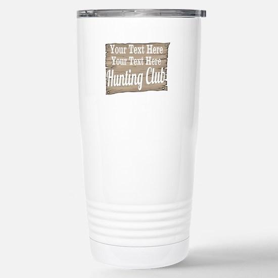 Vintage Hunting Club Travel Mug