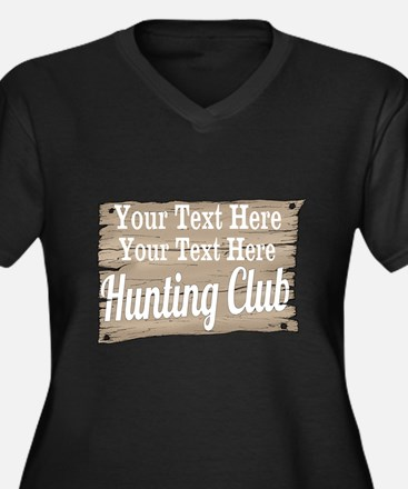 Vintage Hunting Club Plus Size T-Shirt
