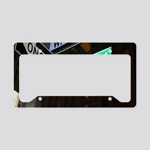 broadway3 License Plate Holder