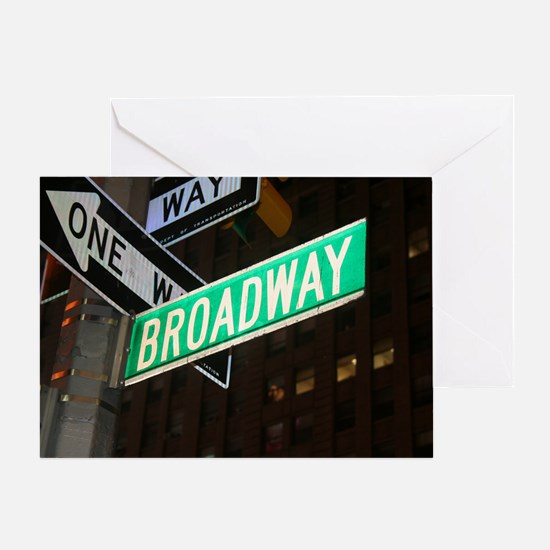 broadway3 Greeting Card