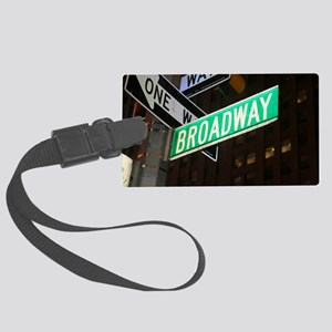 broadway3 Large Luggage Tag