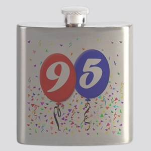 95th Birthday Flask