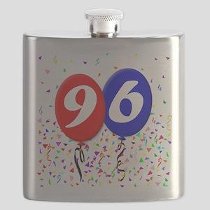 96th Birthday Flask