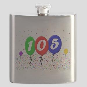 105th Birthday Flask