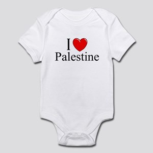 """I Love Palestine"" Infant Bodysuit"