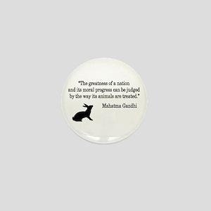 Moral Values Quote Mini Button