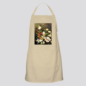 Boudin: Spray of Flowers, floral painting by Apron
