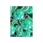 Emerald Satin Dreams 5'x7'Area Rug