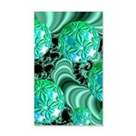 Emerald Satin Dreams 20x12 Wall Decal