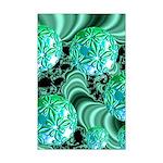 Emerald Satin Dreams Mini Poster Print