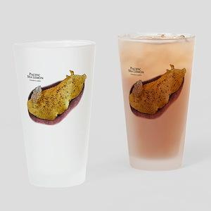 Pacific Sea Lemon Drinking Glass