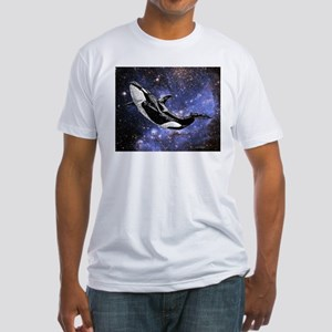 Cosmic Orca Fitted T-Shirt