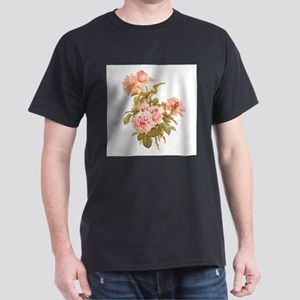 Paul de Longpre pink flowers T-Shirt