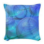 Inner Flow VI Abstract Woven Throw Pillow