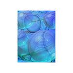 Inner Flow VI Azure Spheres 5'x7'Area Rug